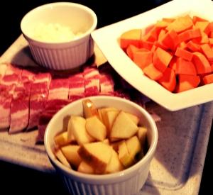 bacon sweet potato apple 2