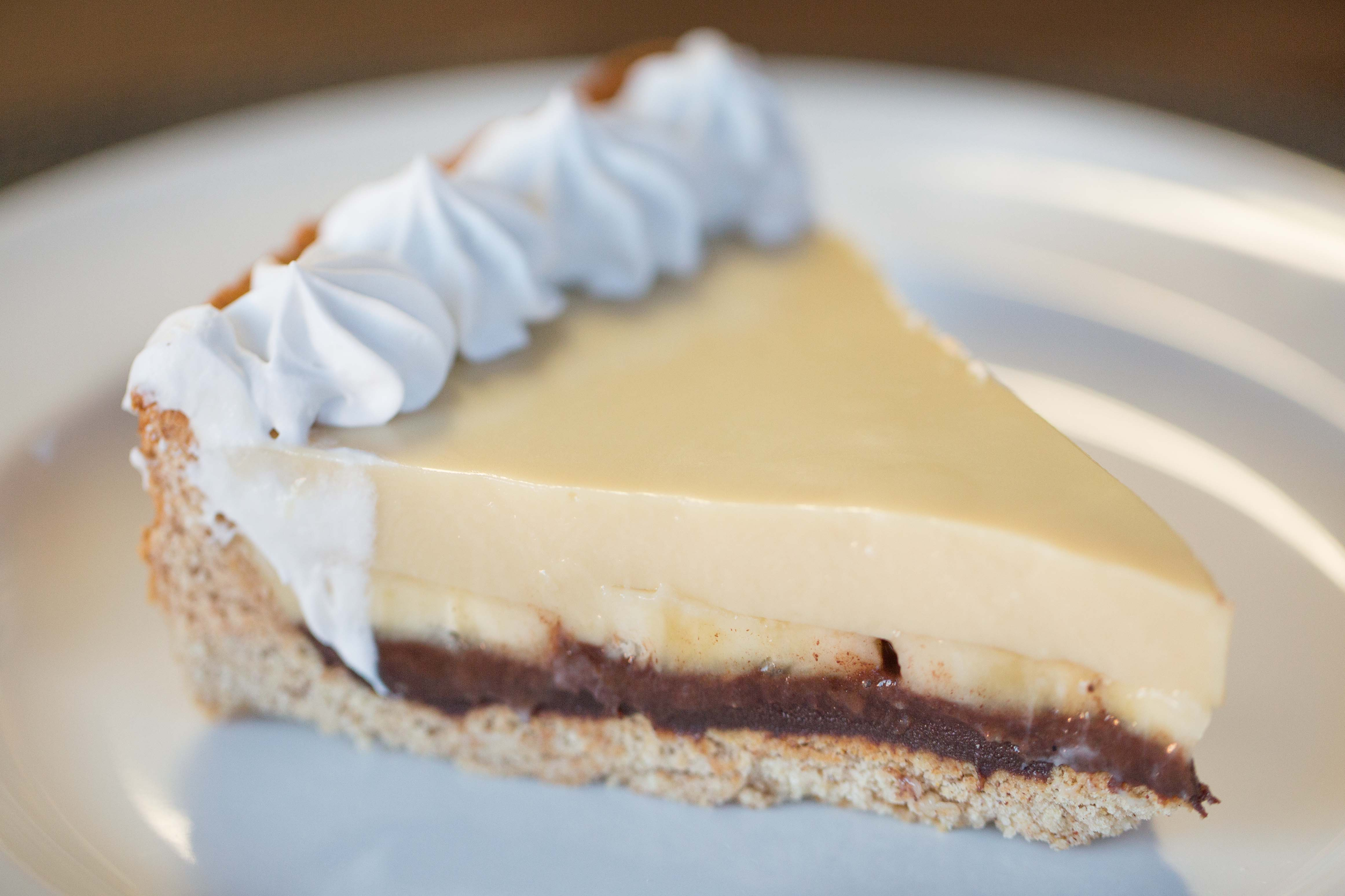 Black Bottom Banana Cream Pie |